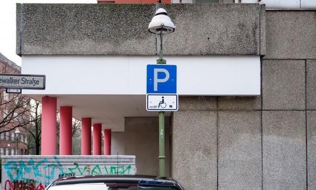 Parkplätze für Schwerbehinderte in Hannover